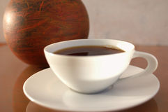 Kunst-Kaffee Lizenzfreies Stockbild