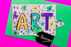 Kunst - Lessen Stock Afbeelding
