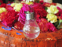 Kunst met bloemen Stock Foto