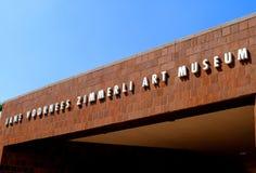 Kunst-Museum Jane-Voorhees Zimmerli lizenzfreie stockfotografie