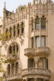 Kunst nouveau Gebäude lizenzfreie stockfotografie
