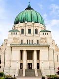 Kunst Nouveau Kirche Otto-Wagner lizenzfreie stockfotografie