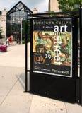 Kunst op de straat Stock Fotografie
