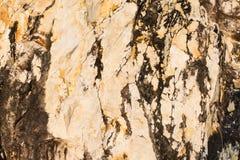 Kunst op steen of de achtergrond van het rotsnatuursteen en textuur Stock Fotografie