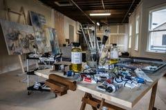 Kunst studio_02 Royalty-vrije Stock Foto