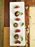 Kunst und Design, Lebensmittel des strengen Vegetariers Lizenzfreie Stockbilder