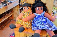 Kunst und Handwerk in Tanzania lizenzfreie stockbilder