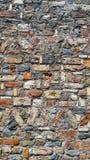 Kunst van bakstenen muur stock foto's
