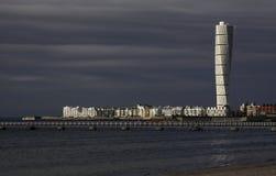 Kunst van Calatrava, het Draaien Torso Royalty-vrije Stock Afbeeldingen