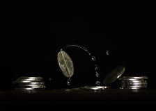 Kunst van Geld Stock Afbeeldingen