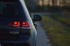 Kunst Volkswagen-Golfs 7, Entwurf lizenzfreie stockbilder