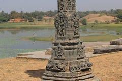 Kunst von arthuna Tempel Stockbild