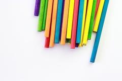 Kunst von farbigen Stöcken Lizenzfreie Stockbilder
