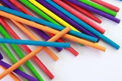 Kunst von farbigen Stöcken Stockbilder