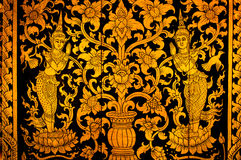 Kunst von thailändischem Lizenzfreie Stockfotos