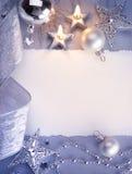 Kunst-Weihnachtsgrußkarte lizenzfreies stockfoto