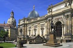 Kunstakademie en Dresden, Sajonia Foto de archivo libre de regalías