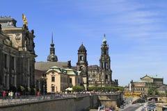 Kunstakademie en Dresden, Sajonia Fotos de archivo