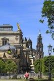 Kunstakademie en Dresden, Sajonia Imagen de archivo