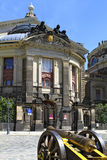 Kunstakademie en Dresden, Sajonia Imagenes de archivo