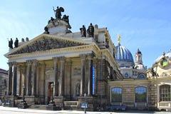 Kunstakademie en Dresden, Sajonia Imágenes de archivo libres de regalías
