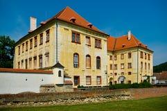 Kunstatt dans le château de la Moravie. photos stock