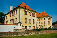 Kunstatt nel castello della Moravia. Fotografie Stock