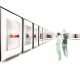 Kunstausstellung Lizenzfreie Stockbilder