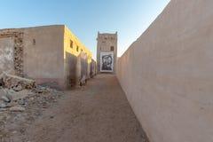Kunstausstellung, Al Jazirah Al Hamra, Ras Al Khaimah stockfotos
