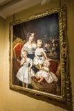 Kunstausstellung in Blois Stockfotos