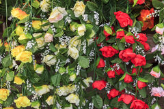 Kunstbloemen Royalty-vrije Stock Foto's