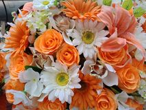 Kunstbloemen 123 Kunstmatige flowers1 Stock Foto's