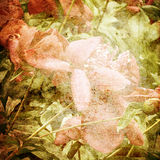 Kunstblumenhintergrund Lizenzfreie Stockbilder