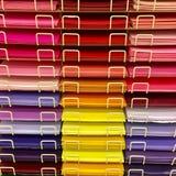 Kunstdruckpapiere Stockbild