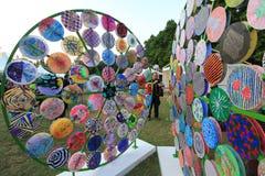 Kunsten in de gebeurtenis van Parkmardi gras in Hong Kong Royalty-vrije Stock Afbeelding