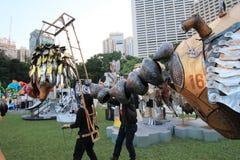 2014 kunsten in de gebeurtenis van Parkmardi gras in Hong Kong Royalty-vrije Stock Foto's