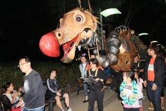 Kunsten in de gebeurtenis van Parkmardi gras in Hong Kong 2014 Stock Fotografie