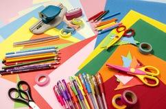 Kunsten en ambachtlevering Stock Foto