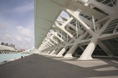 Kunsten en Wetenschap museum-Valencia Royalty-vrije Stock Fotografie