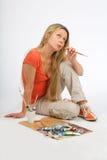 Kunstenaar Stock Foto