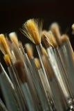 Kunstenaar Brushes royalty-vrije stock afbeeldingen