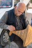 Kunstenaar in Cappadocia, Turkije Royalty-vrije Stock Foto's