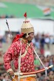 Kunstenaar op Festival van Erfenis Ladakh Royalty-vrije Stock Afbeelding