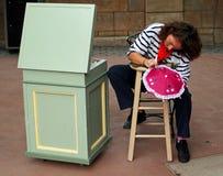 Kunstenaar Painting royalty-vrije stock fotografie