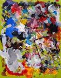 Kunstenaar Palette stock illustratie