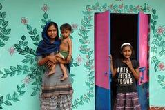 Kunstenaar Village Stock Foto's