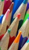 Kunstenaars die potloden kleuren Stock Afbeelding