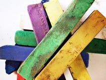 Kunstenaars zachte pastelkleuren Stock Foto's