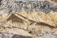 Kunstenaarsaandrijving in doodsvallei Stock Afbeelding