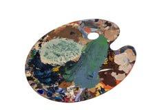 Kunstenaarspalet Stock Afbeelding